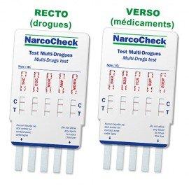 Urine test for 10 drugs